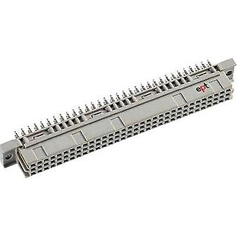 Edge connector (receptacle) DIN 41 612 Type C96F FET abc 3.4mm straight Total number of pins 96 No. of rows 3 ept 1 pc(