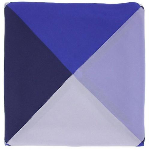 Michelsons of London Four Way Silk Handkerchief - Purple