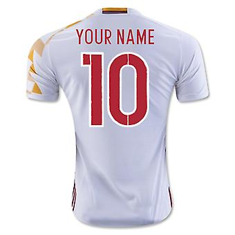 2016-2017 Spain Adidas Away Shirt (Your Name) -Kids
