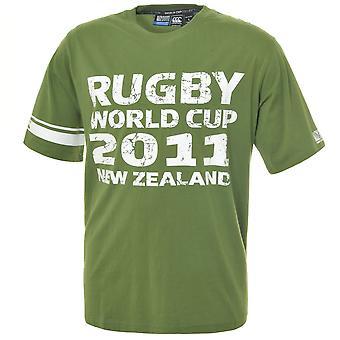 T-Shirt CCC Rugby World Cup 2011 du commandant de bord [vert]