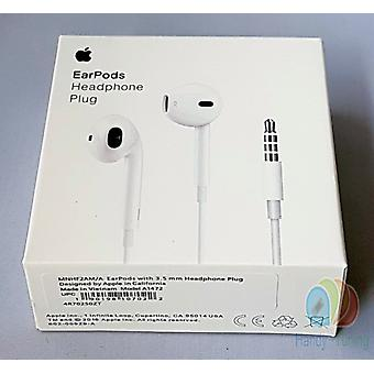 2 x blister original Apple MD827 EarPods InEar headset 3.5 mm with remote control