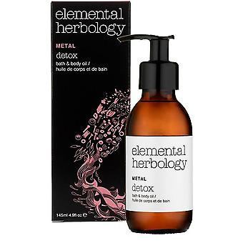 Elemental Herbology Metal Detox Bath and Body Oil