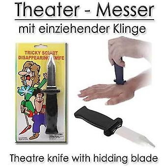 Theatre disappearing knife hoax article Theatre knife plastic show