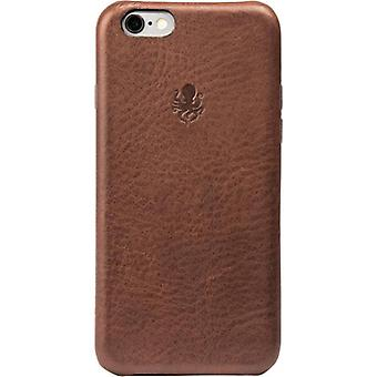 Nodus Shell iPhone 7/8 Case and Micro Dock - Chestnut Brown
