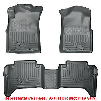 Husky Liners 98952 Grey WeatherBeater Front & 2nd Seat  FITS:TOYOTA 2005 - 2014