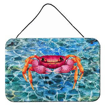 Carolines Treasures  BB8526DS812 Crab Wall or Door Hanging Prints
