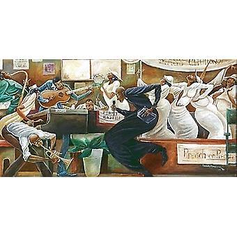 Preach on Preacher (mini) Poster Print by Frank Morrison (10 x 6)