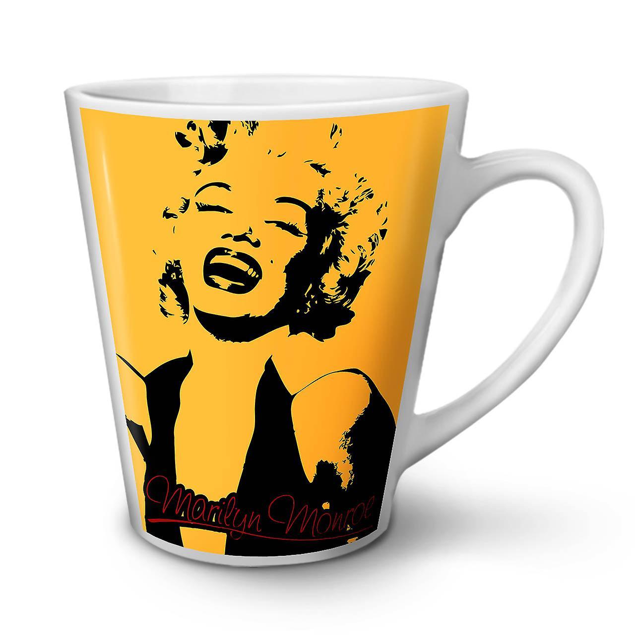 Coffee White Ceramic OzWellcoda New Laugh 12 Latte Mug Tea nPNOwXZ80k