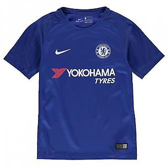 2017-2018 Chelsea Home Nike Football Shirt (Kids)