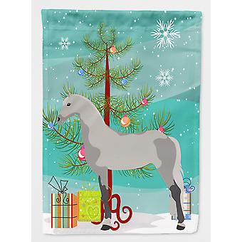Orlov Trotter hest Christmas flagg lerret huset størrelse