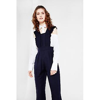 Cubic Pleated Jumpsuit