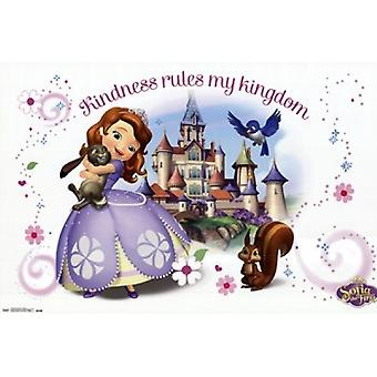 Sofia The First - Kindness Poster Print
