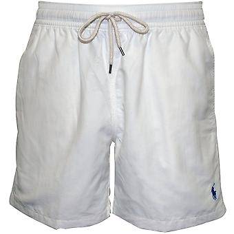 Polo Ralph Lauren Traveller Swim Shorts, Classic White