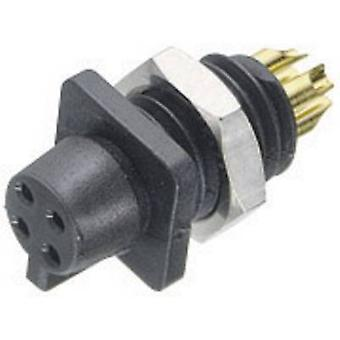 Binder 09-9766-30-04 09-9766-30-04 Sub-miniature Circular Connector Series Nominal current (details): 3 A Number of pins