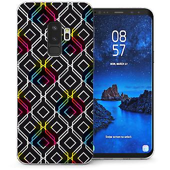 Samsung Galaxy S9 Plus Digital Cube TPU Gel Case-schwarz