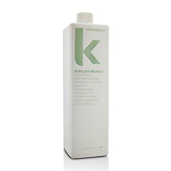 Kevin Murphy Stimulate-Me.Wash (Stimulating and Refreshing Shampoo - For Hair & Scalp) 1000ml/33.6oz