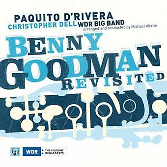 Paquito D'Rivera - Benny Goodman Revisited [CD] USA import
