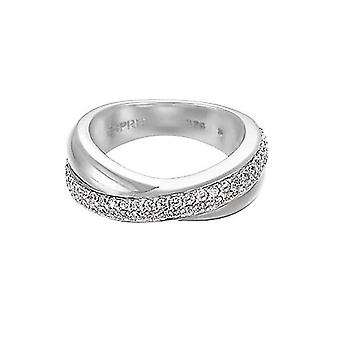 Esprit Damen Ring Silber Zirkonia purity glam ESRG91722A1