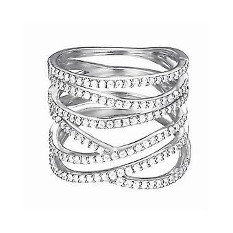 ESPRIT women's ring silver JW50141 cubic zirconia ESRG92533A
