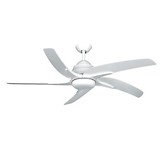 Ceiling fan Viper Plus White with lighting 137 cm / 54