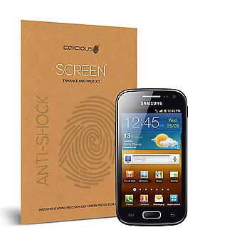 Celicious Impact Anti-Shock Shatterproof Screen Protector Film Compatible with Samsung Galaxy Ace 2