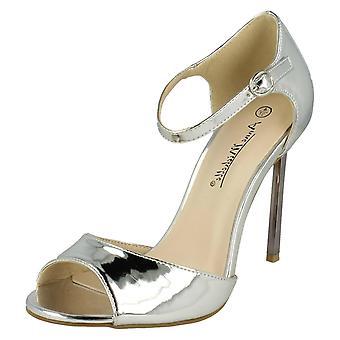 Dames Anne Michelle Peep Toe sandalen F10556