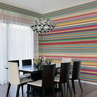 Wallpaper - Subdued stripes