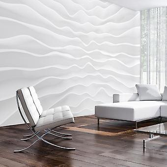 Behang - Origami muur