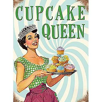 Cupcake Queen Small Metal Sign 200Mm X 150Mm