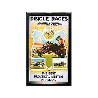 Dingle Races Embossed Metal Sign 200Mm X 300Mm