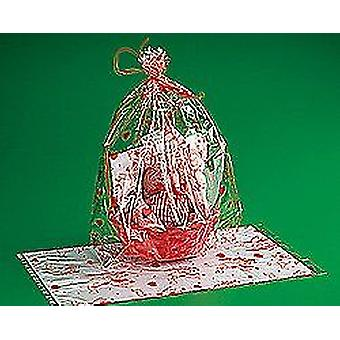 12 Large Valentine Design Cellophane Bags for Bumper Party Bags or Basket Wraps