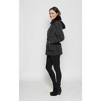 Ladies padded 3/4 length jacket David Barry DB969