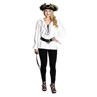 Pirate blouse White Roman sleeve blouse pirate shirt Pirate Costume for women