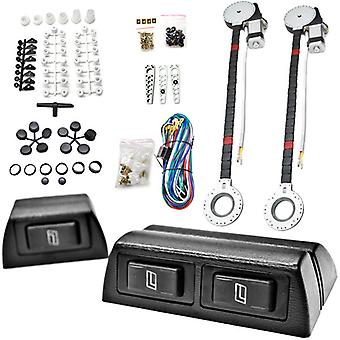 2x Car Window Automatic Power Kit Electric Roll Up For GMC Caballero Canyon Envoy Topkick