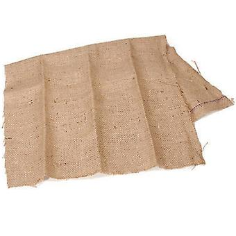Natural Hessian Burlap Fabric Section for Crafts - 56cm x 89cm