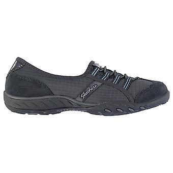 Skechers Womens BE Allure Slip On Textile Memory Foam Casual Everyday Shoes