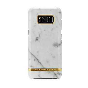 Richmond & Finch covers for Samsung Galaxy S8-White Marble