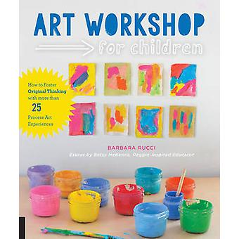 Art Workshop for Children - How to Foster Original Thinking with More
