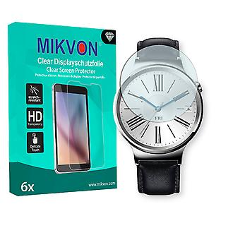 Huawei Watch Screen Protector - Mikvon Clear (Retail Package with accessories)