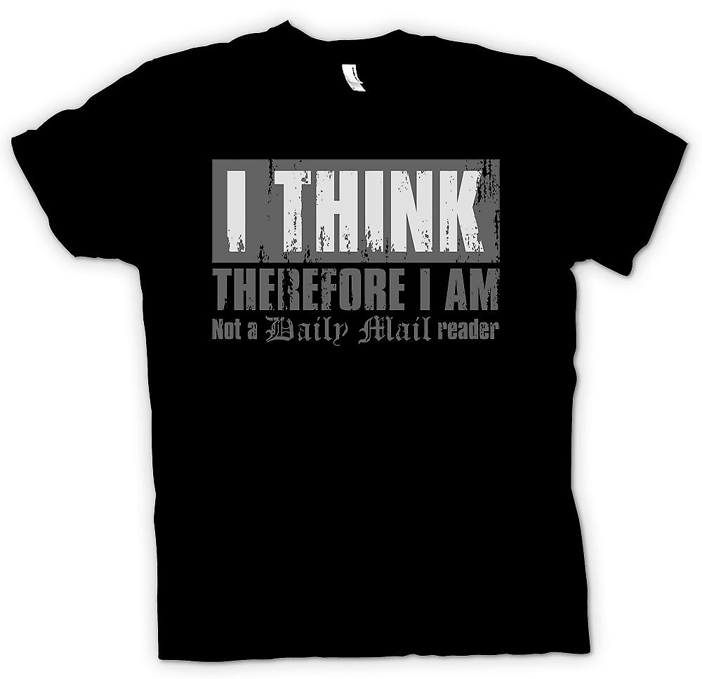 Kids T-shirt - I Think Therefore I Am Not A Daily Mail