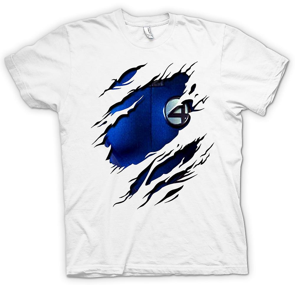 Womens T-shirt-Reed richards herr Fantastic - Fantastic 4 kostym - superhjälte slet Design