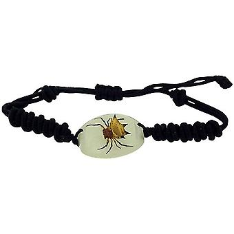The Olivia Collection Glow in the Dark Bug Bracelet with REAL Spiny Spider