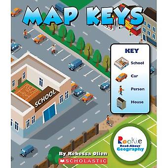 Mappa tasti (Rookie lettura-circa geografia)