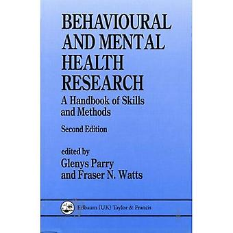 Beteendemässiga och psykiska hälsa forskning