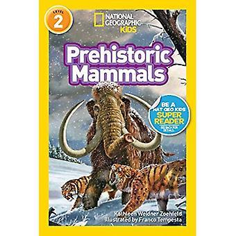 Mamíferos prehistóricos (lectores geográficos nacionales: nivel 2)