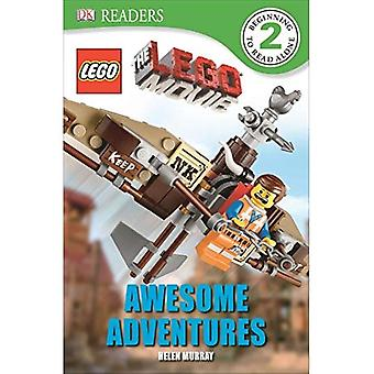 DK Readers L2: The Lego Movie: Awesome Adventures (DK Readers: Level 2)