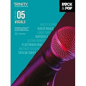 Trinity Rock & Pop 2018 sång Grade 5 - Trinity Rock & Pop 2018 (noter)