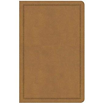 CSB Deluxe Gift Bible, Tan� Leathertouch