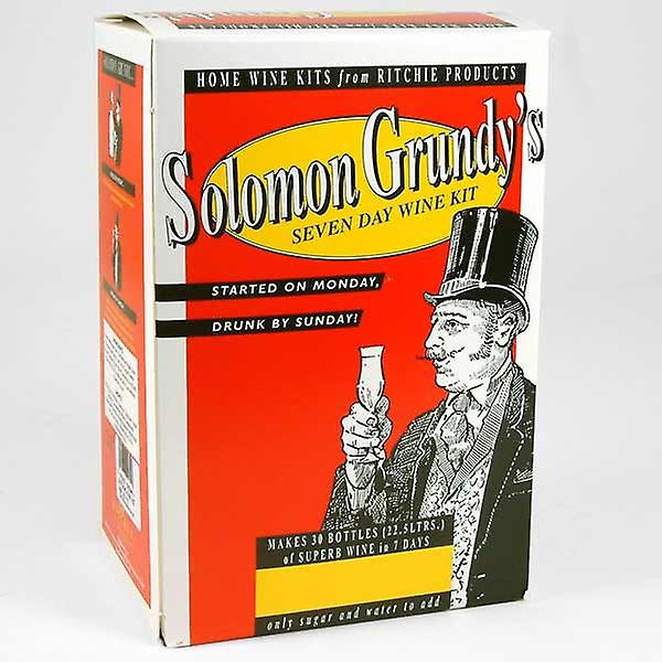 Solomon Grundy - Medium Dry White - 30 flaskor