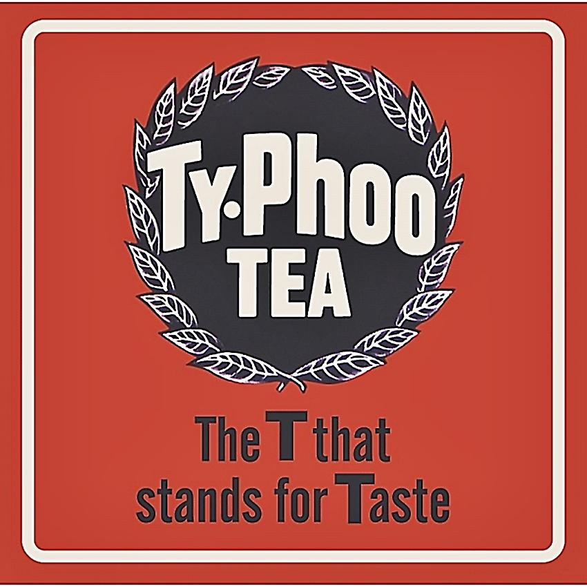 Ty-Phoo The T That Stands For Taste drinks mat / coaster   (hb)